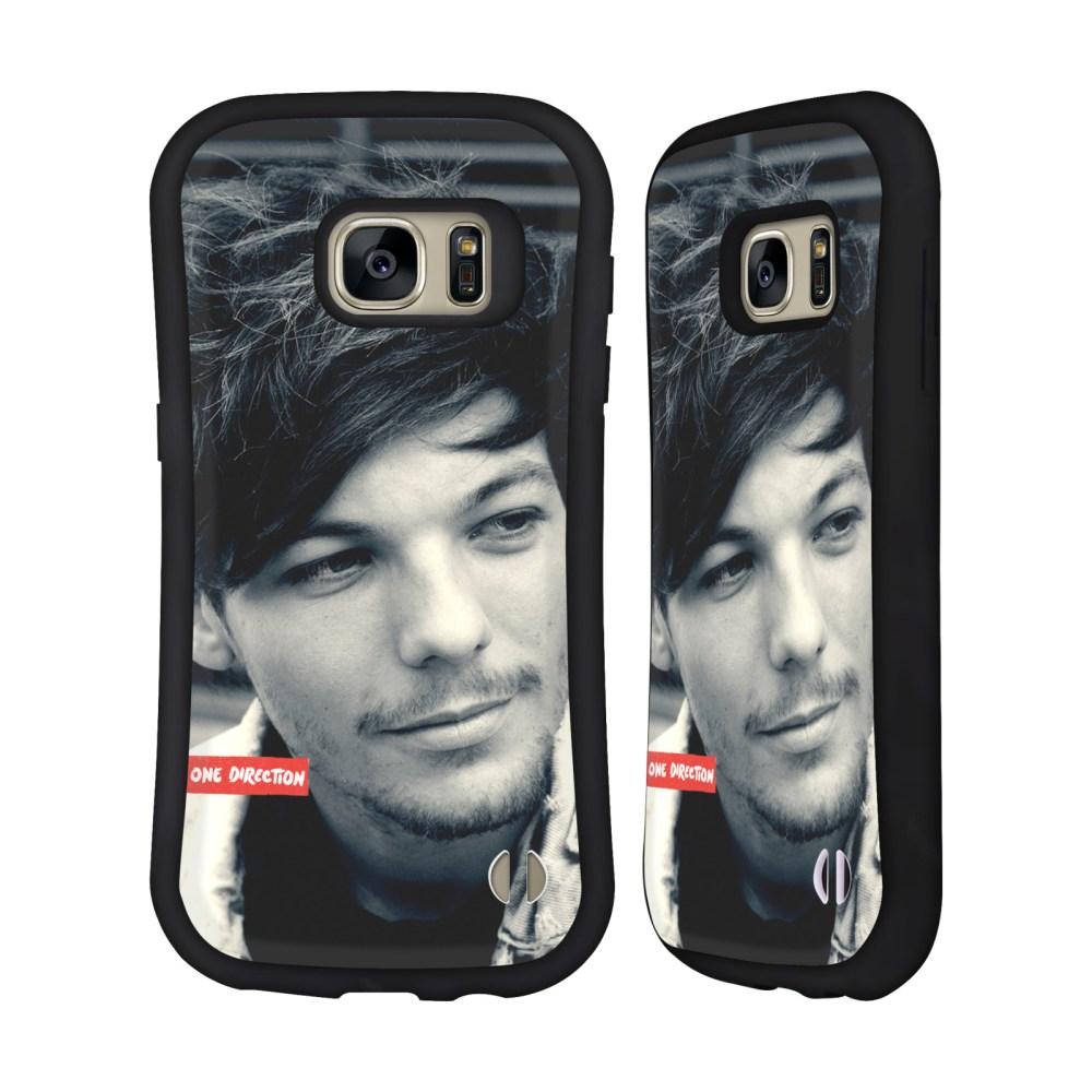 medium resolution of official one direction louis photo filter hybrid case for samsung phones walmart com