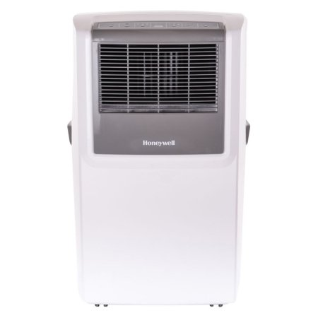Honeywell MP10CESWW 10,000 BTU Portable Air Conditioner with Front Grille and Remote Control, White/Grey