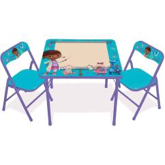 Doc Mcstuffins Erasable Activity Table And Chair Set Blue Arm Accent Roselawnlutheran