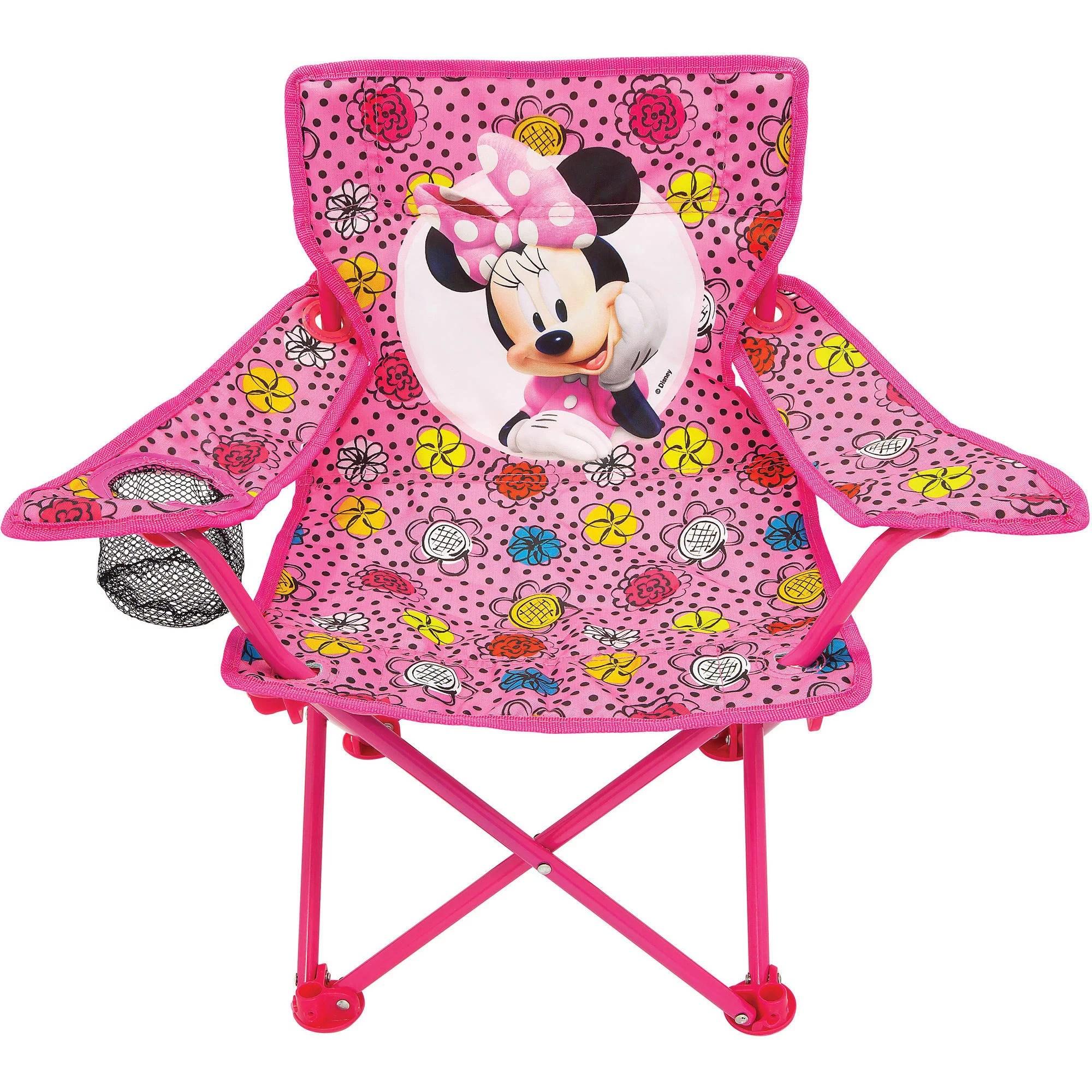 minnie mouse chair walmart patio plans diy disney fold n go com