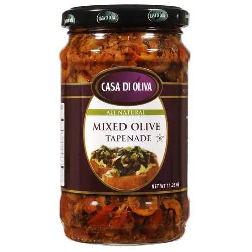 Casa Di Oliva Mixed Olive Tapenade 1125 oz  Walmartcom