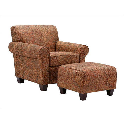 8 way hand tied sofa brands in canada tapestry living room furniture handy walmart com product image portfolio mira paisley arm chair and ottoman