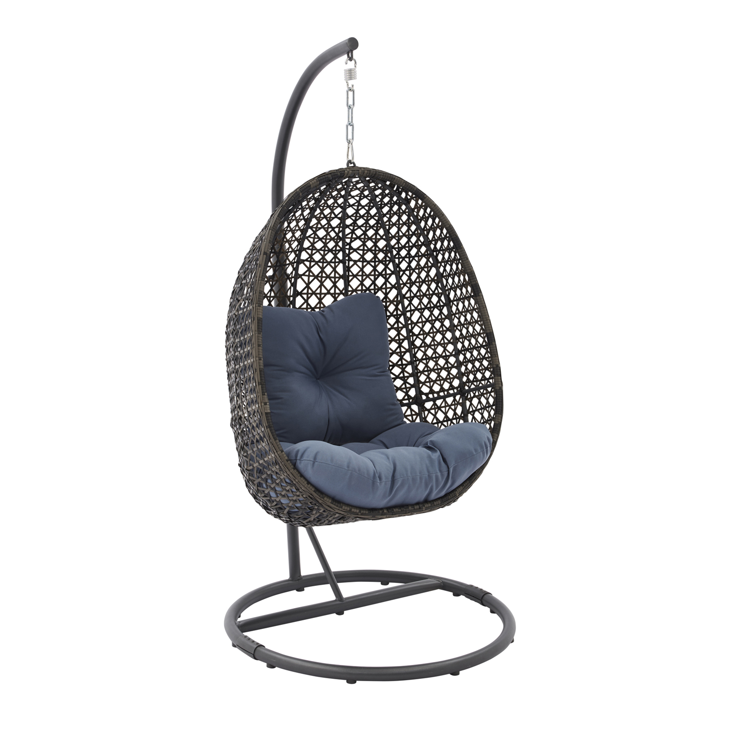 Hanging Chair Outdoor Details About Patio Furniture Cushions Porch Swing Outdoor Wicker Hanging Chair With Stand
