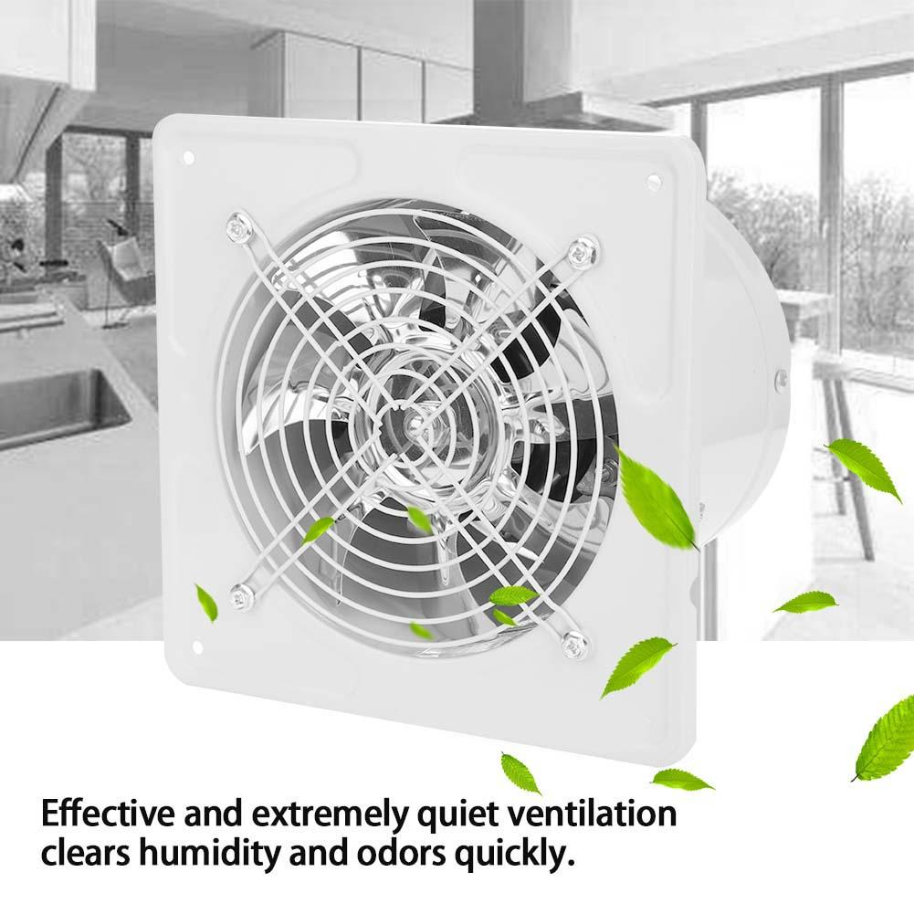acouto wall mount ventilation fan kitchen bathroom exhaust fan 40w 220v wall mounted exhaust fan low noise home bathroom kitchen garage air vent