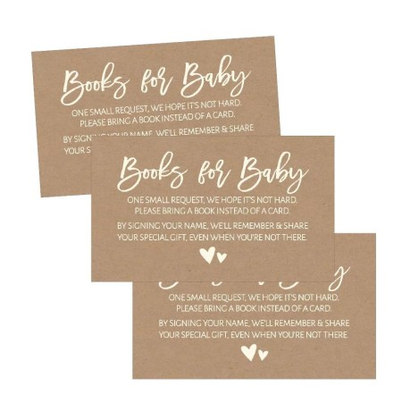 25 Rustic Books For Baby Request Insert Card Or Boy Kraft Shower Invitations Invites Cute Bring A Book Instead Of Theme