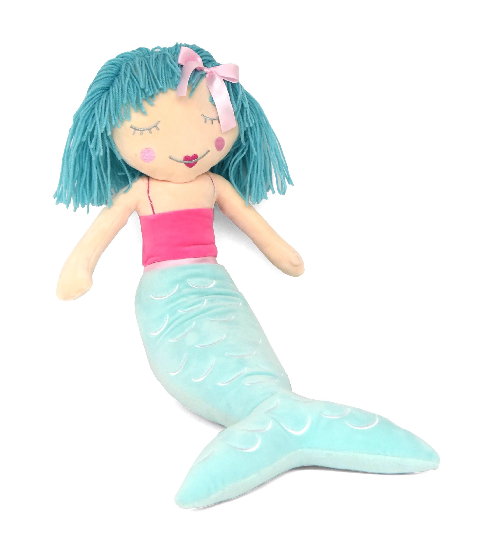 your zone 3d figural plush mermaid decorative throw pillow 16