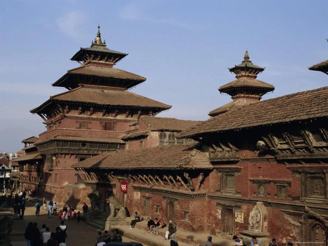 Durbar Square Patan Kathmandu Valley Nepal Asia Print