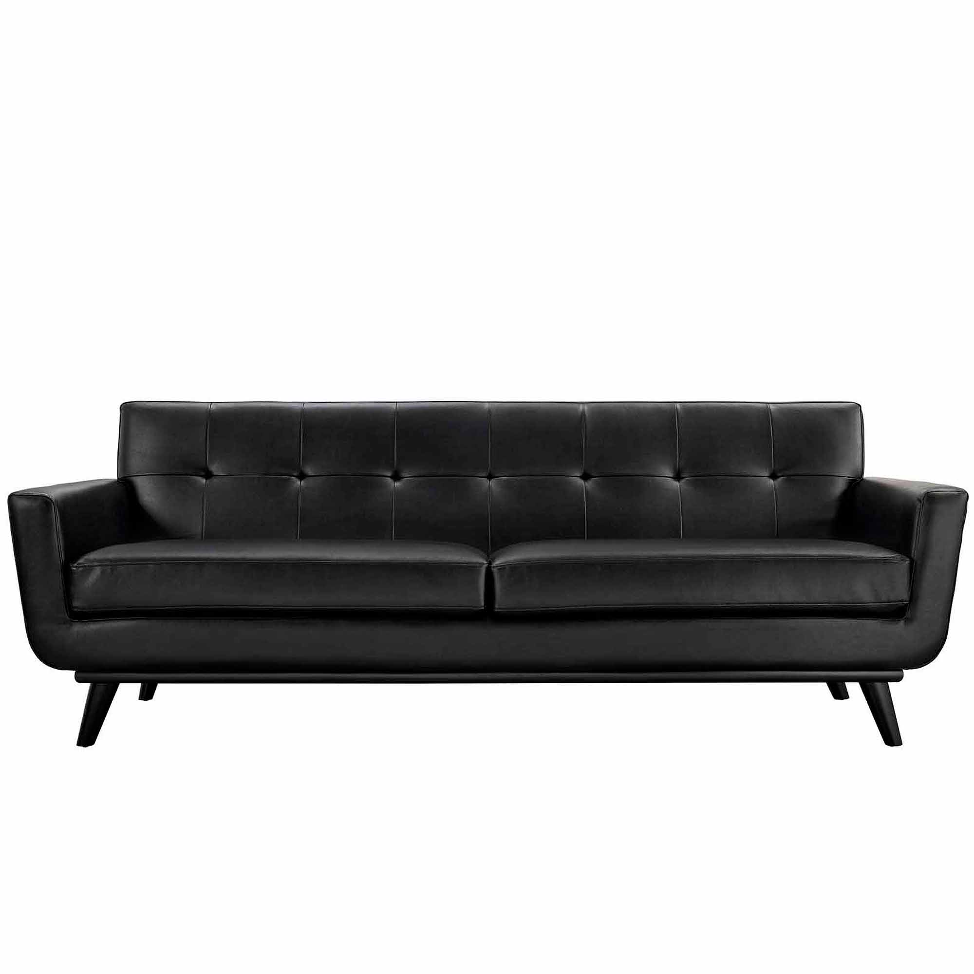 delta sofa debenhams multiyork manhattan reviews modway engage bonded leather with wood legs multiple colors walmart com