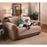 Innovative Textile Solutions 1 Piece Microfiber Solid Sofa Furniture Cover Slipcover Natural Walmart Com Walmart Com