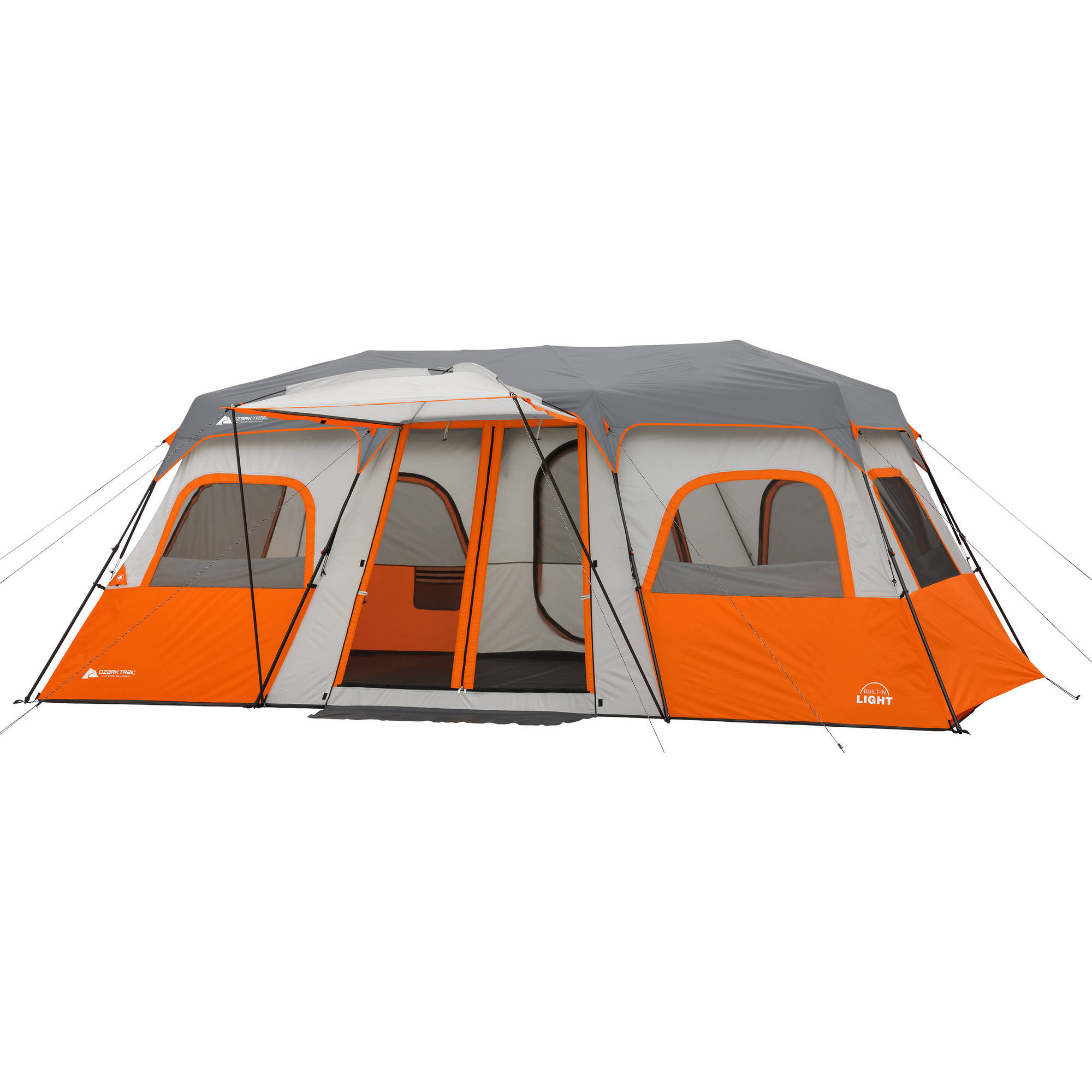 """Ozark Trail 18"""" x 10' Instant Cabin Tent with Integrated"""