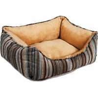 Petmate- Fashion Rectangular Plush Lounger Dog Bed ...
