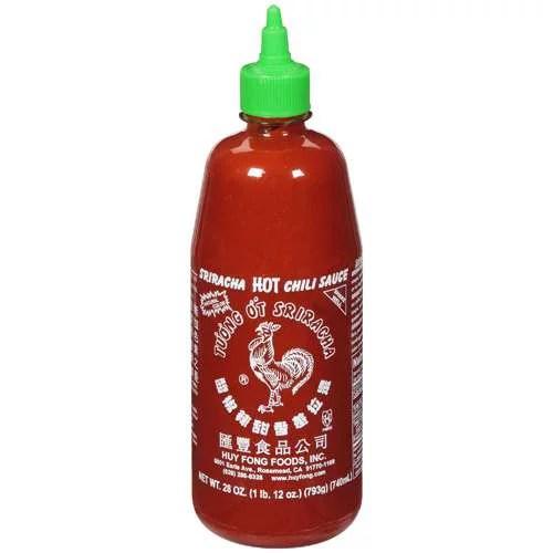 Huy Fong Foods Sriracha Hot Chili Sauce 28 oz Walmartcom