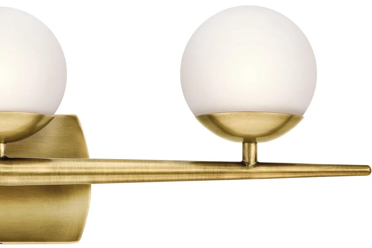 kichler jasper 24 1 2 w chrome 3 light halogen bath light