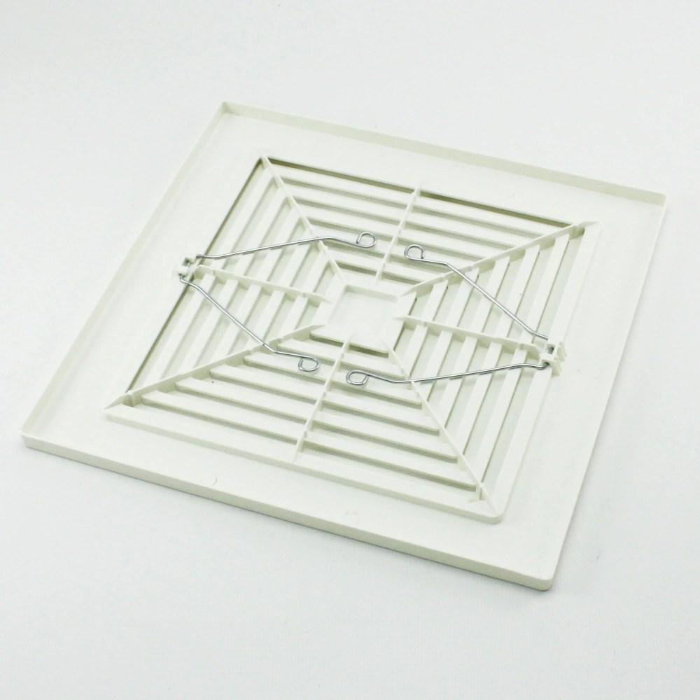 medium resolution of broan nutone 97011723 bath bathroom ceiling fan grille grill cover plastic white walmart com