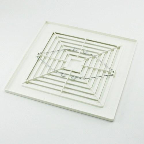 small resolution of broan nutone 97011723 bath bathroom ceiling fan grille grill cover plastic white walmart com