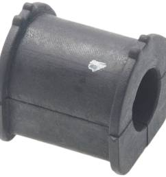 febest szsb swr rear stabilizer bushing d17 suzuki swift sf310 2001 2003 oem 46641 70c00 walmart com [ 1146 x 1089 Pixel ]