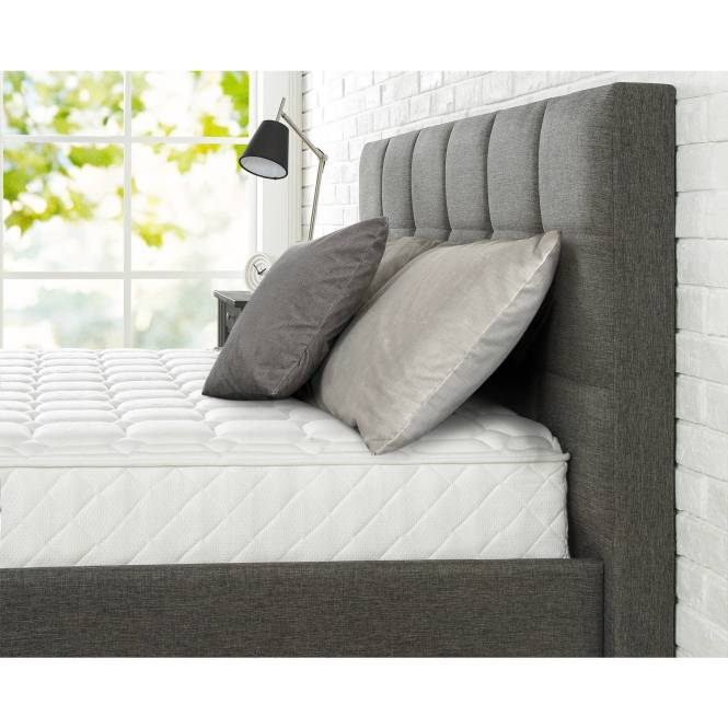 8 Mattress In A Box King Comfort Bed Back Pain White New