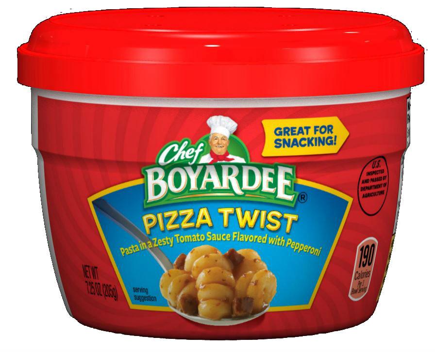 Chef Boyardee Pizza Twist Pasta Microwave Cup 725 oz