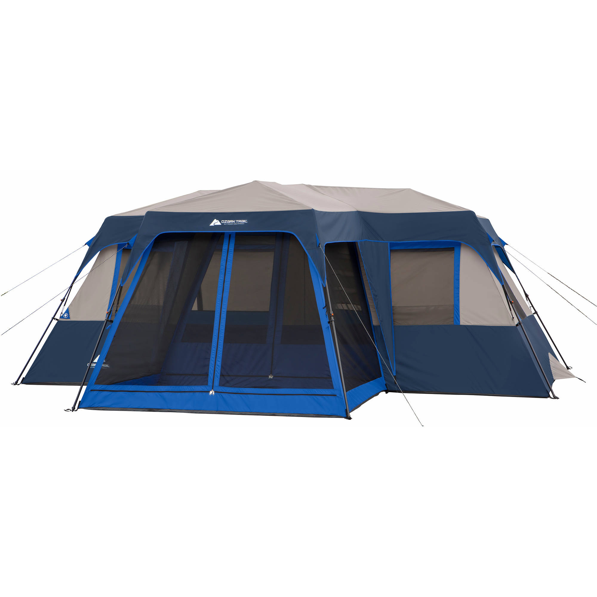 Ozark Trail 12 Person 2 Room Instant Cabin Tent with