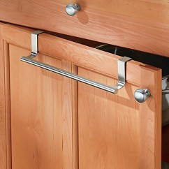 Kitchen Towel Bar Modular Kitchens Peralng 14 Ultra Firm Stainless Steel Single Rod Duster Cloth Holder For