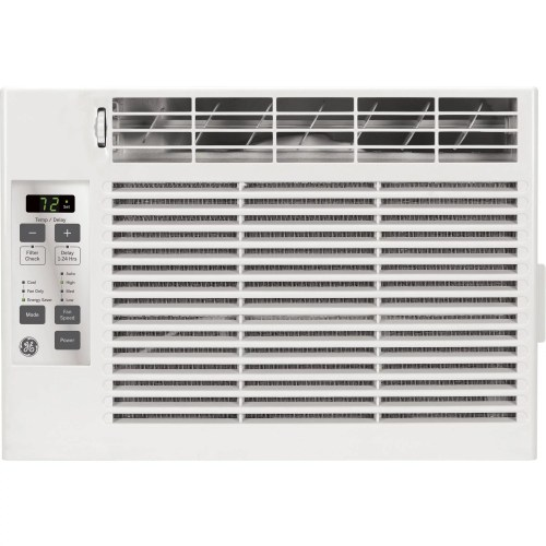 small resolution of general electric 5 000 btu window air conditioner with remote 115v ge aez05lv walmart com