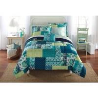 Riviera 3-Piece Bedding Comforter Set - Walmart.com