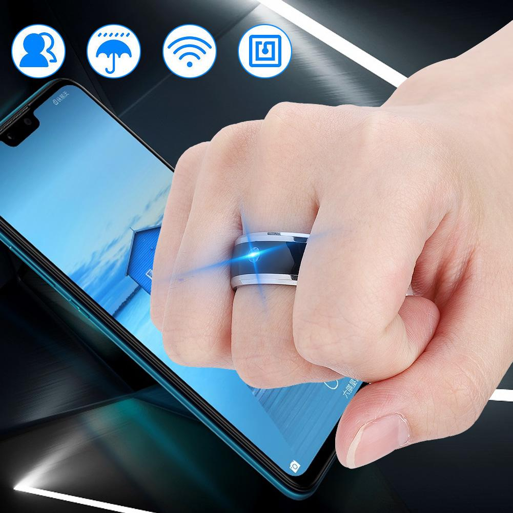 OTVIAP NFC Multi-function Smart Rings Magic Wearable Device Universal for Mobile Phone, Multi-function Smart Ring, NFC Smart Ring