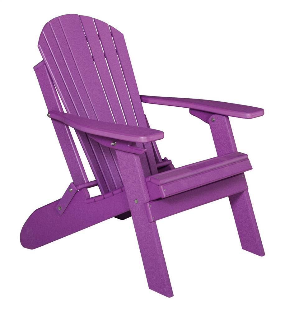Childs Folding Adirondack Chair in Tropical Purple ...
