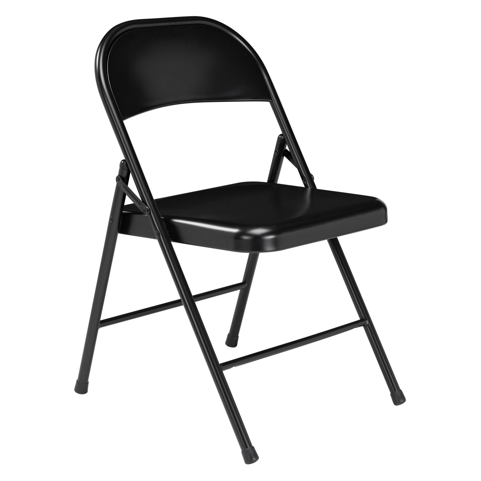 public seating chairs eames chair stool national commercialine all steel folding 4 pack walmart com