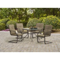Mainstays Spring Creek C-Spring Patio Dining Chair, Set of ...