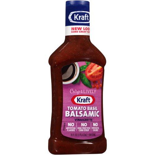 Kraft Balsamic Vinaigrette Dressing amp Marinade with Tomato