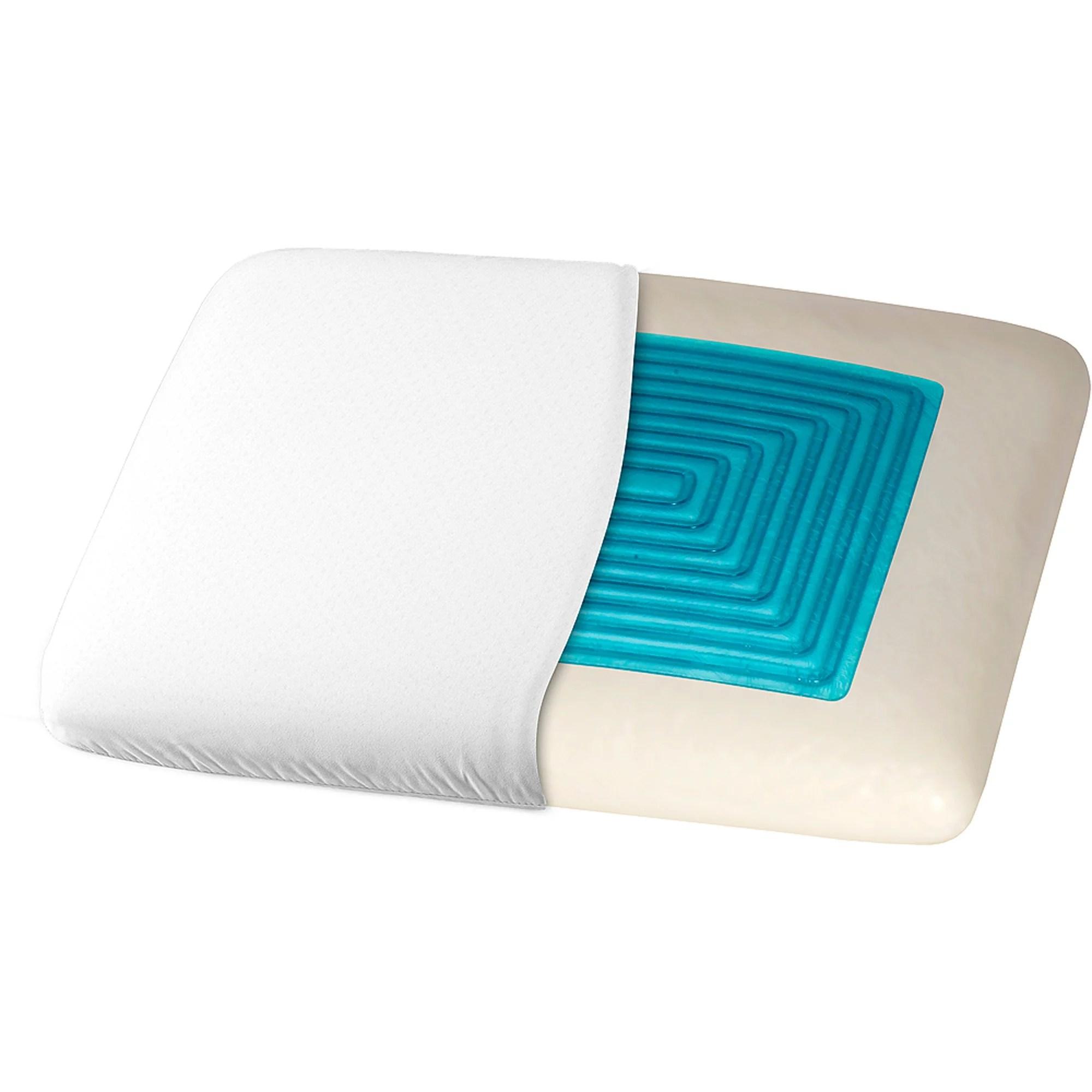 Dream Serenity Trugel Memory Foam Pillow  Walmartcom