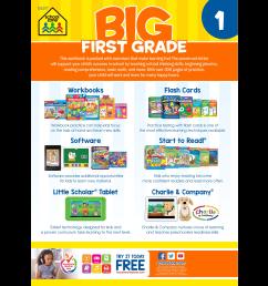Big First Grade Workbook - Walmart.com - Walmart.com [ 2048 x 2048 Pixel ]