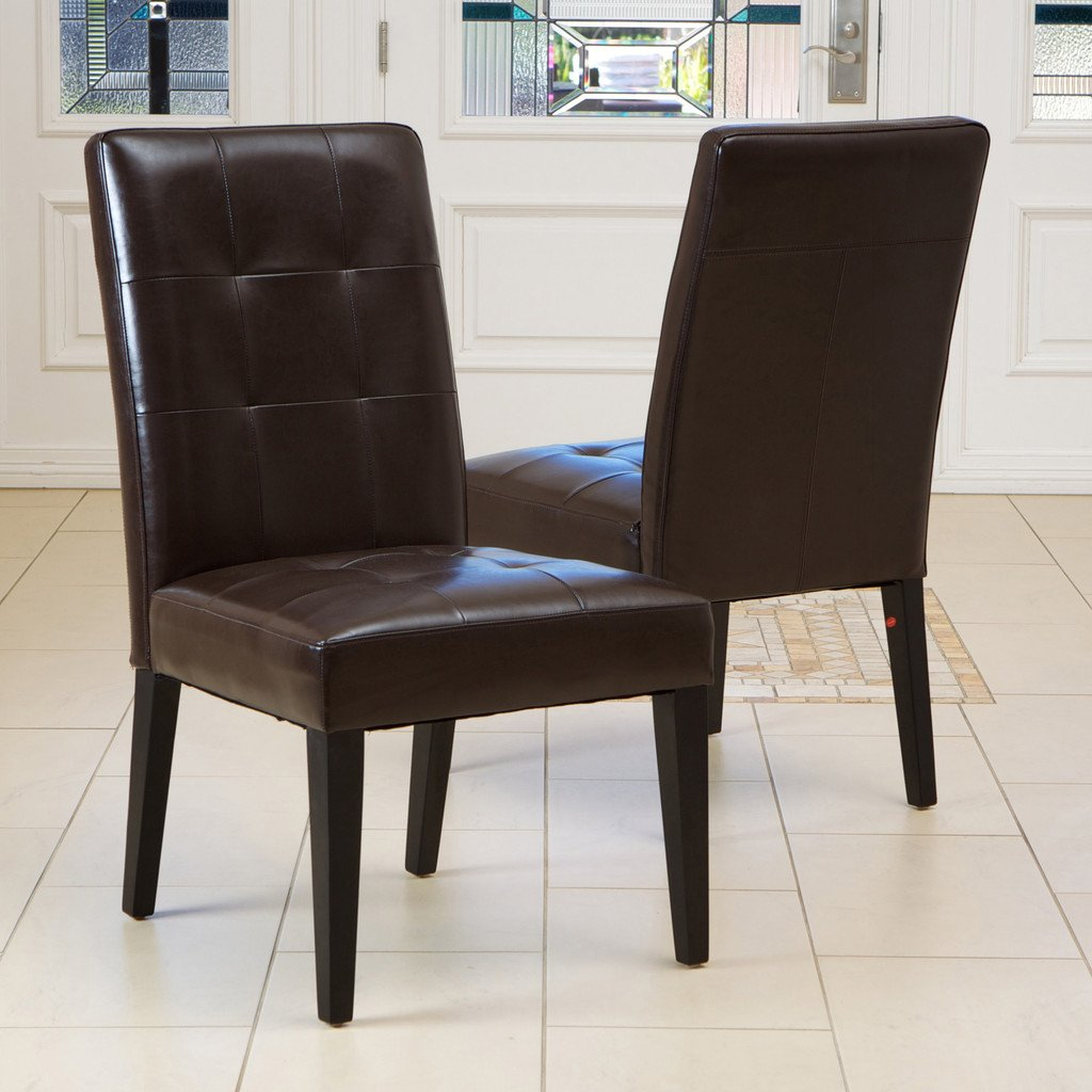 Rena Oversized Tufted Dining Chair Set of 2  Walmartcom