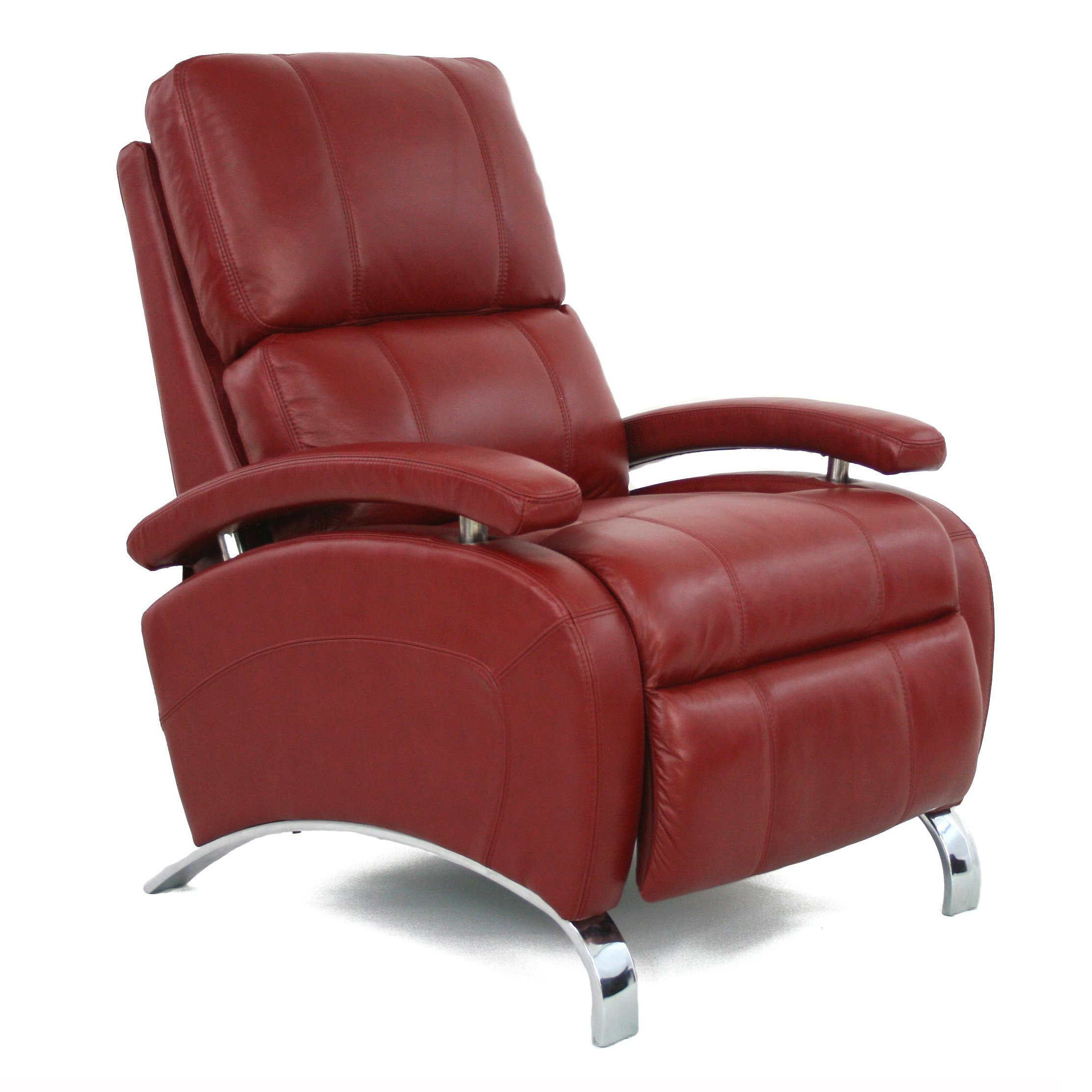 red recliner chairs chair for office work barcalounger oracle ii leather push back walmart com