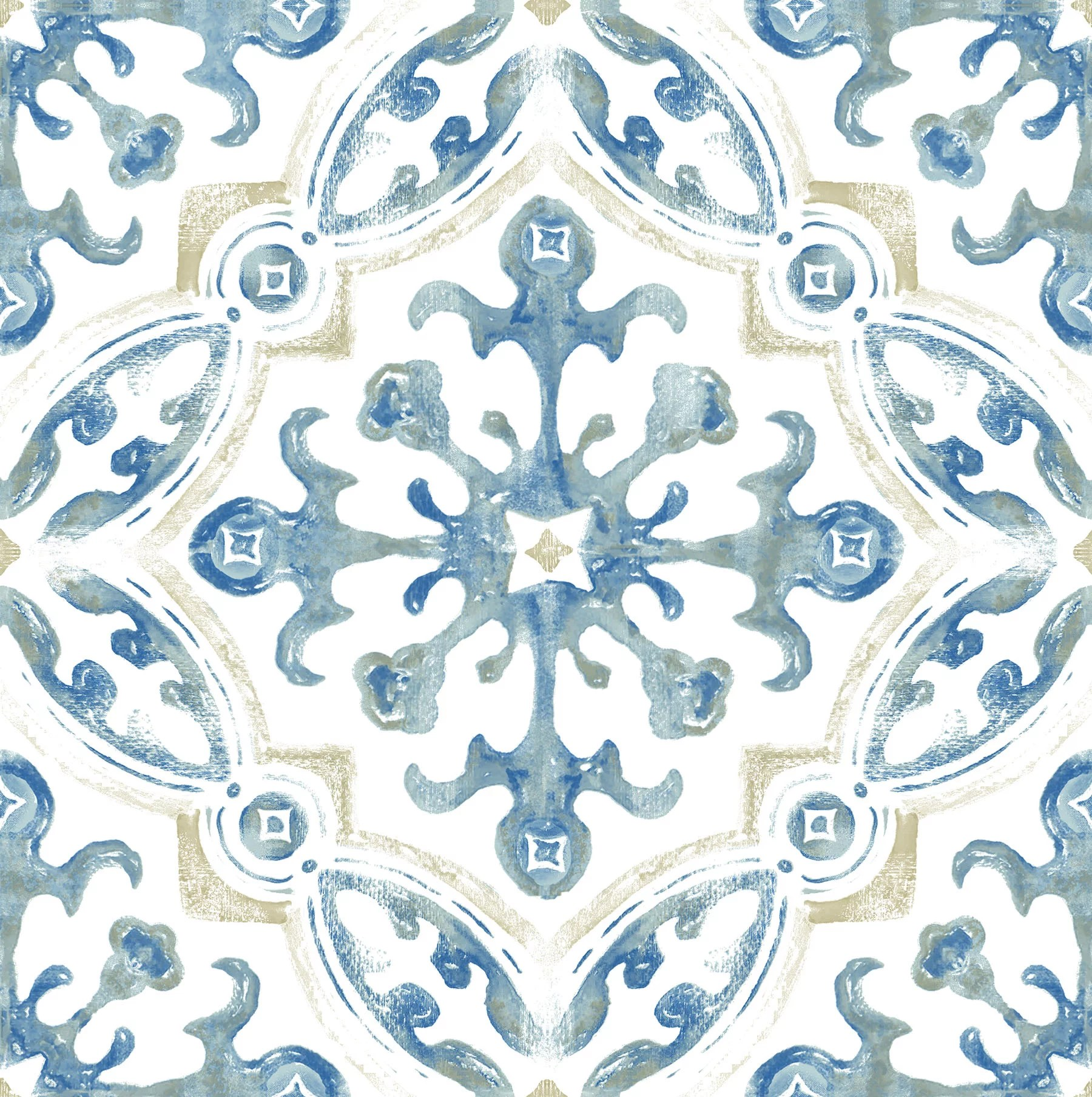 floorpops virgin vinyl blue fp3299 tuscan peel stick floor tiles