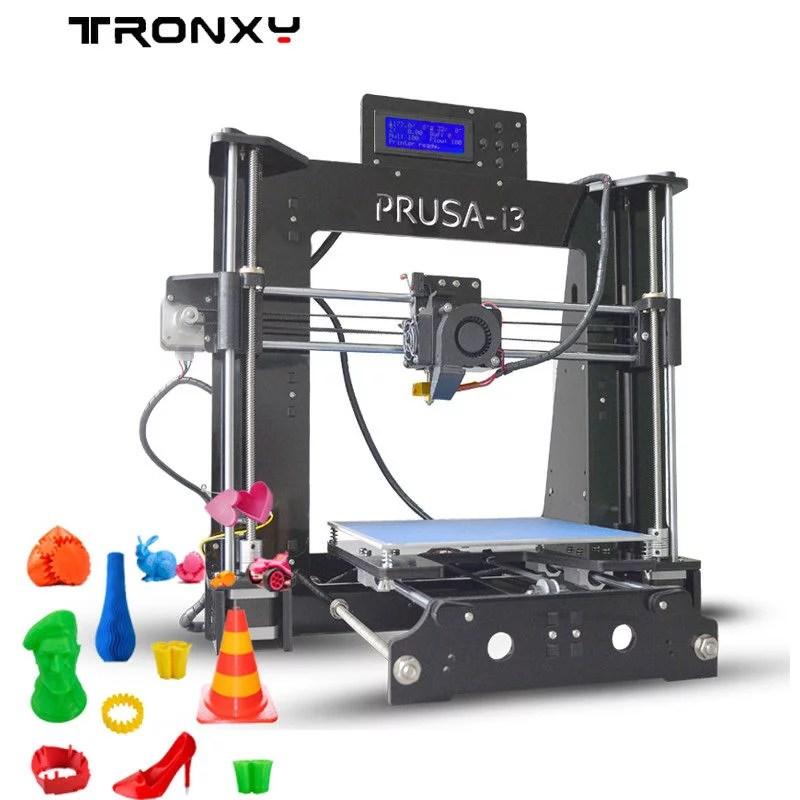 tronxy 3d printer p802d