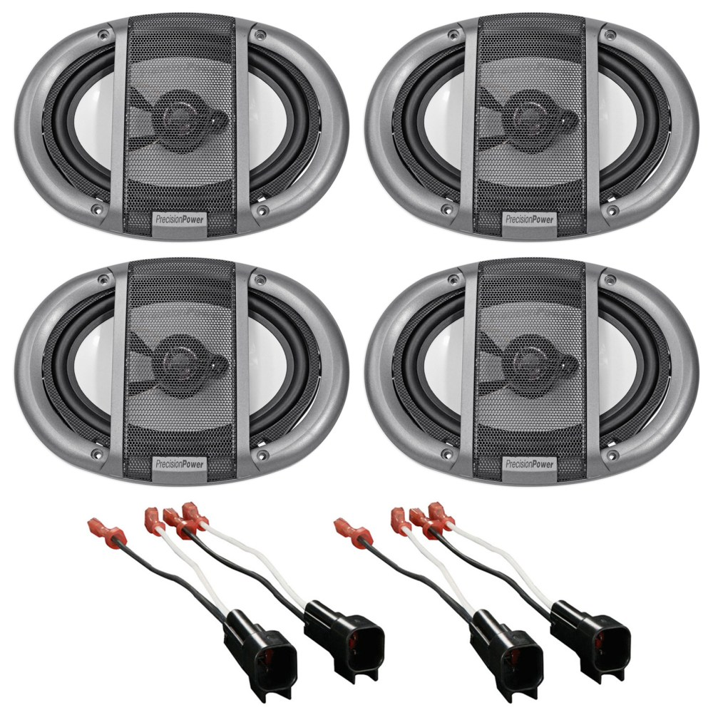 medium resolution of 2007 ford mustang precision front rear factory speaker replacement kit harness walmart com