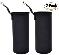 Outgeek 2 Pack Neoprene Bottle Carrier Bottle Sleeve Water ...