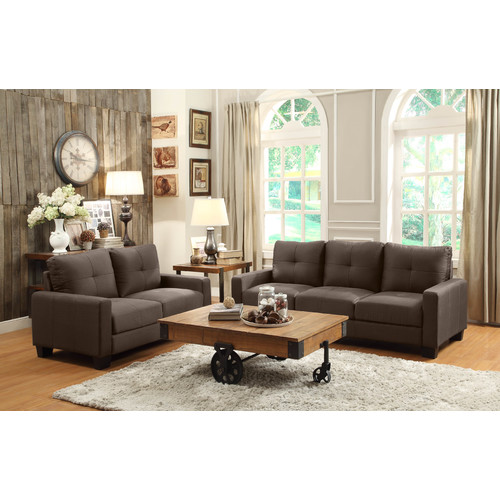 woodhaven living room furniture pictures of rooms with log burners bundle 71 hill ramsey collection 2 pieces walmart com