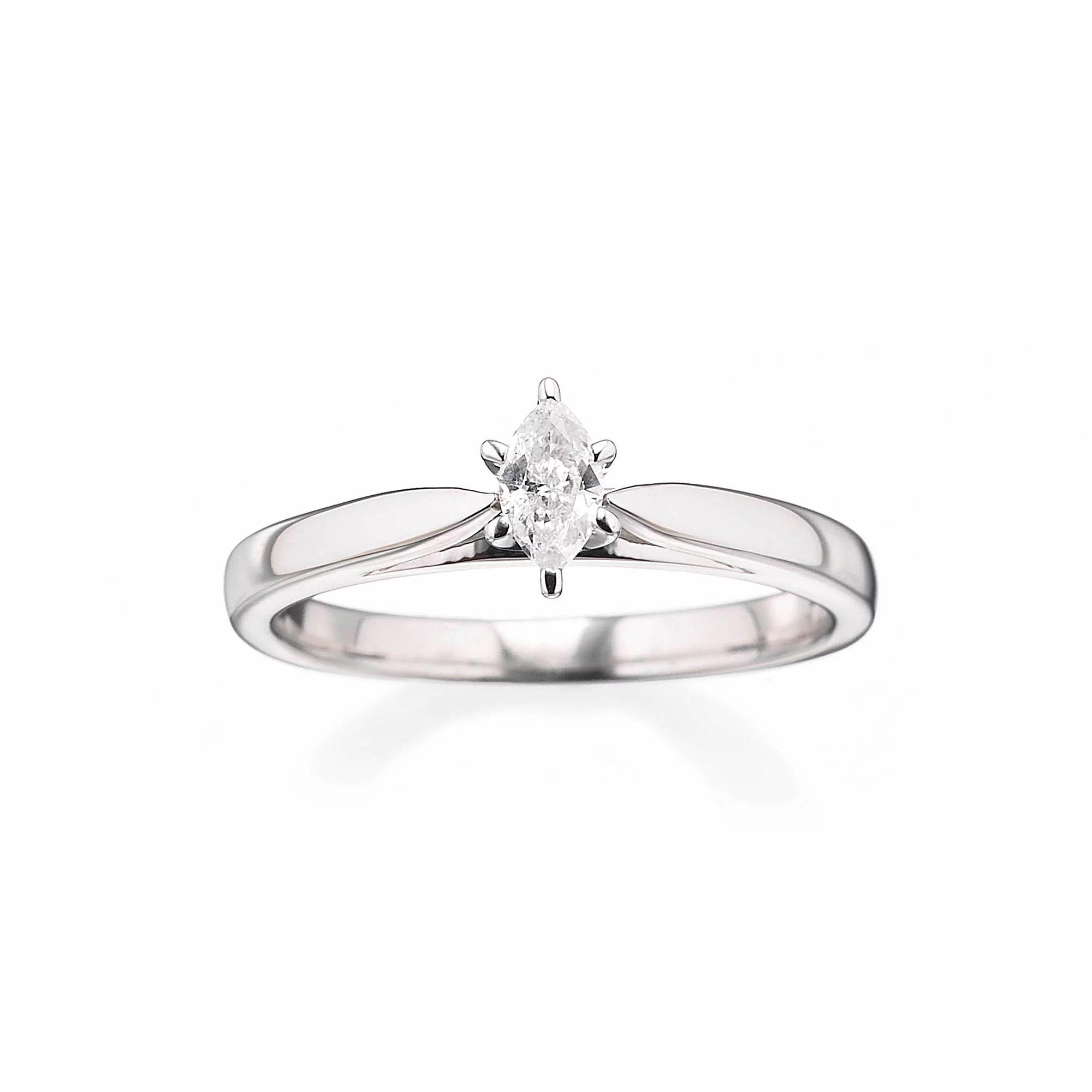 Always & Forever Platinaire 1/5 Carat Diamond Marquise