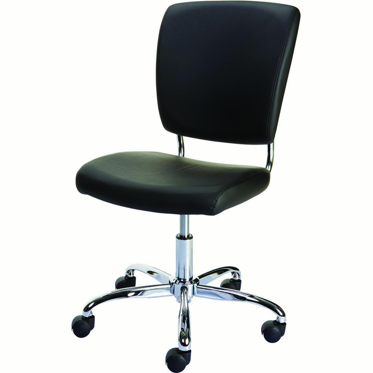 Office Chairs At Staples Staples 27373 Nadler Luxura Office Chair Armless Black Walmart