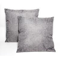 TrendyHomeGoods Dark Grey 16-inch Throw Pillows (Set of 2 ...