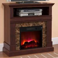 "Prokonian Electric Fireplace with 36"" Mantle B003, Deep ..."
