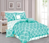 Galaxy 7-Piece Comforter Set Reversible Soft Oversized ...