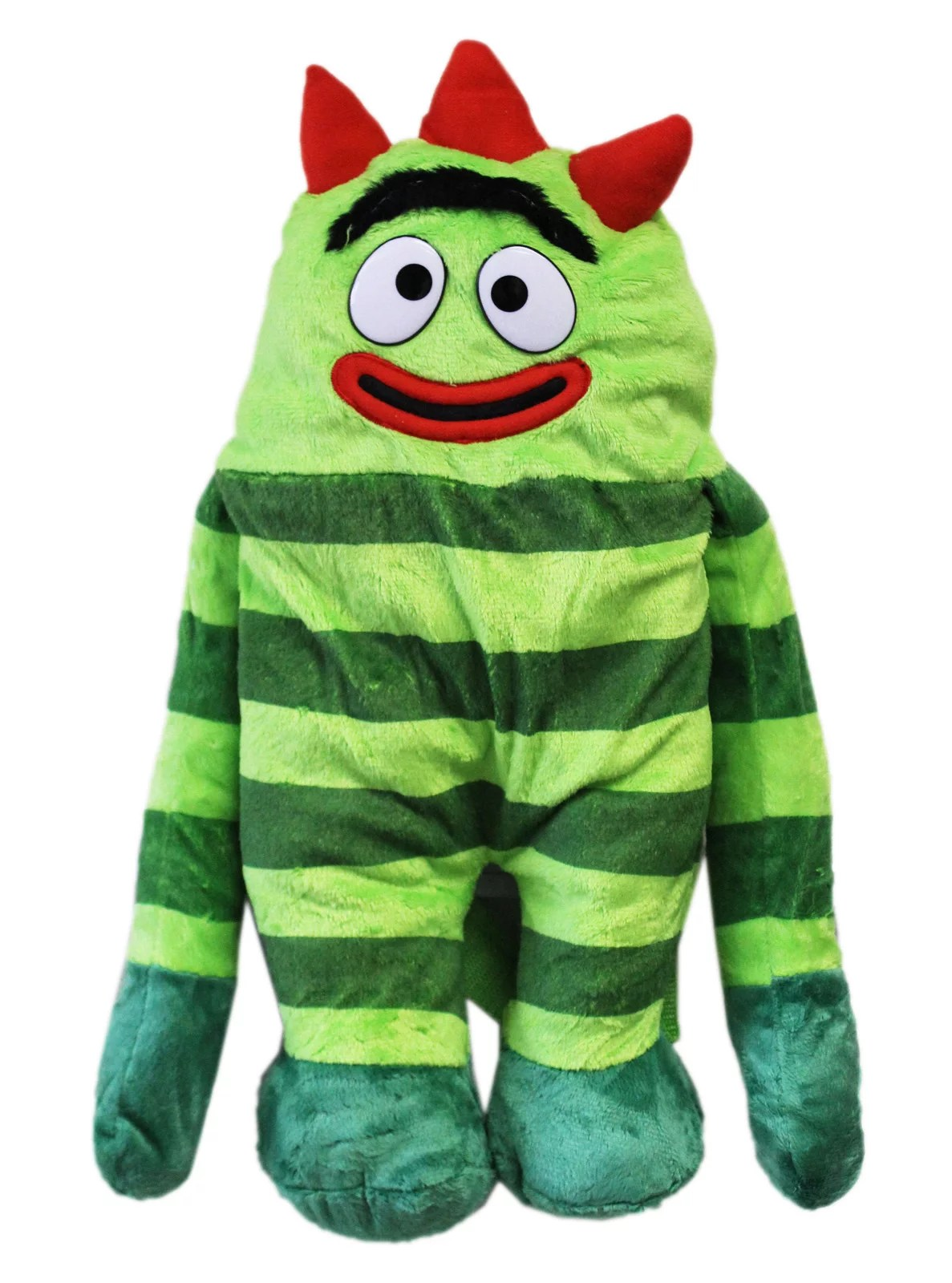 Yo Gabba Gabba Brobee Plush Toy Backpack 17in Walmart