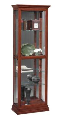 Space Saver Side Entry Curio Cabinet