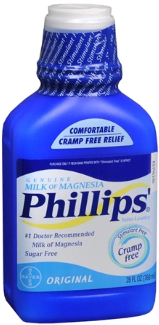 Phillips' Milk of Magnesia Original 26 oz (Pack of 2 ...