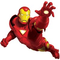 RoomMates Iron Man Peel and Stick Giant Wall Decal ...