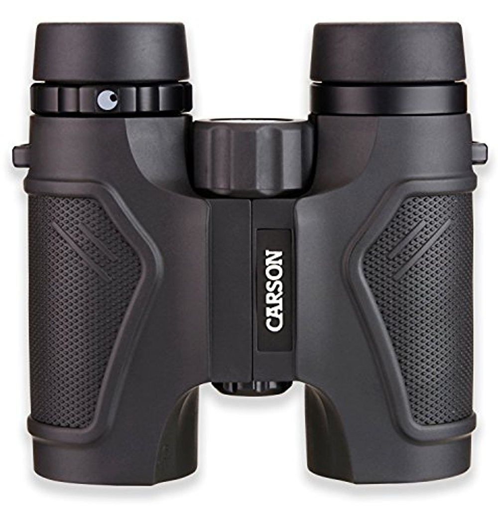 Carson 3D Series High Definition Compact & Waterproof Binoculars with ED Glass